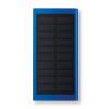 Solar Power Bank 8000 Mah in royal-blue