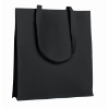 Shopping Bag With Gusset in black