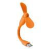 Portable USB fan in orange