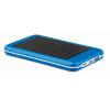 4000 mAH solar powerbank        in royal-blue