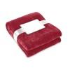 Blanket flannel in burgundy