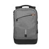 Backpack & power bank in grey