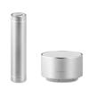 Set Power Bank / Speaker in matt-silver