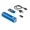 Set 8Gb Memory With Power Bank in blue