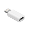 Adaptor Micro Usb To Lightning in white