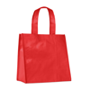 Small Pp Woven Bag in red