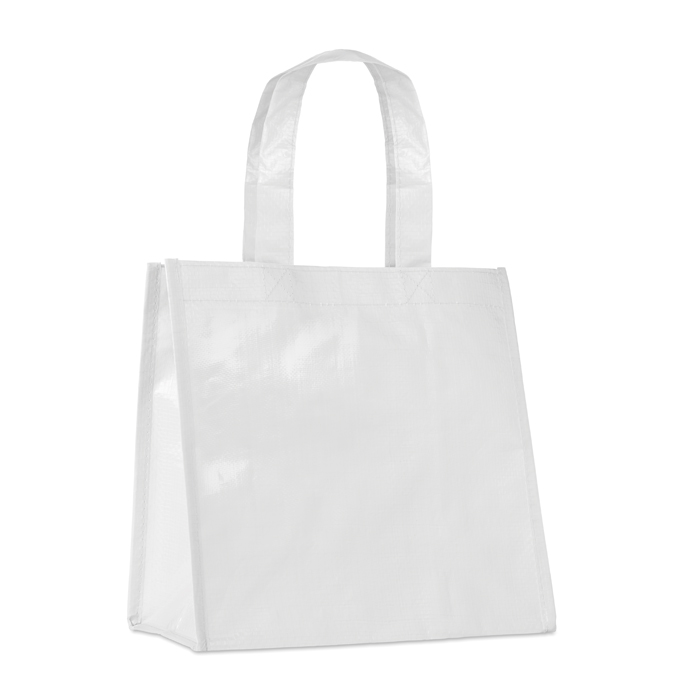 Small Pp Woven Bag in white