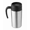 Small travel mug 340 ml         in matt-silver