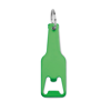 Aluminium bottle opener in green