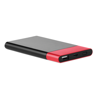 4000  Powerbank With Light in red