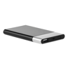 4000  Powerbank With Light in silver