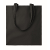 Cotton shopping bag 140gsm      in black