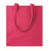 Cotton shopping bag 140gsm      in fuchsia