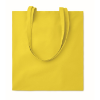 Cotton shopping bag 140gsm      in yellow