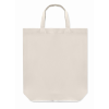 Foldable Cotton Shopping Bag    in white