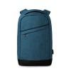 2 tone backpack incl USB plug   in blue