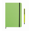 Notebook set in lime