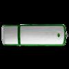 Classic USB Flash Drive in green