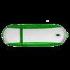 Alu USB Flash Drive in green