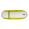 Alu USB Flash Drive in yellow