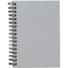 Langton A6 Card Notebook in cool-grey