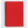 Langton A6 Card Notebook in red