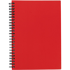 Langton A5 Card Notebook in red
