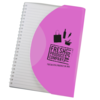 Curve Notebook A5 in pink