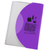 Curve Notebook A5 in purple