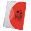 Curve Notebook A5 in red