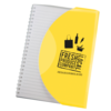 Curve Notebook A5 in yellow