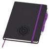 Medium Noir Notebook (Curvy) in purple