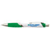 Orlando Ballpen White in green