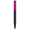 Harlequin Ballpen in black-pink-clip