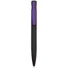 Harlequin Ballpen in black-purple-clip