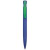 Harlequin Ballpen in blue-green-clip