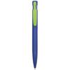 Harlequin Ballpen in blue-lime-clip