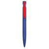 Harlequin Ballpen in blue-red-clip