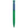 Harlequin Ballpen in green-blue-clip
