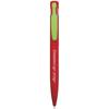 Harlequin Ballpen in red-lime-clip