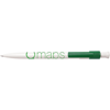 Monza Pen in white-and-green