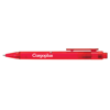 Frosted Calypso Ballpen in red