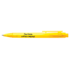 Frosted Calypso Ballpen in yellow