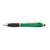 Curvy Stylus Ballpen in green-and-black