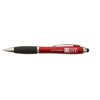 Curvy Stylus Ballpen in red-and-black