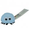Branded Logo Standard Bug in baby-blue