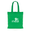 Budget Coloured Shopper in green