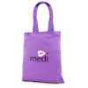 Budget Coloured Shopper in purple