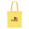 Budget Coloured Shopper in yellow
