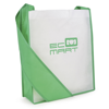 Contrast Messager Bag in green